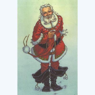 Page 1 Affiche Mon Voisin le Père Noël ; Tillier ; Signée & Numérotée 150 ex. ; 20x30