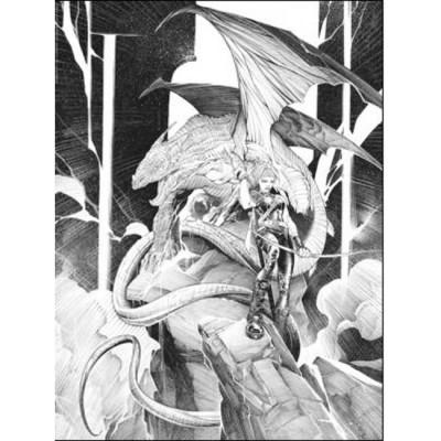 Page 6 Affiche Matant le Dragon N°6 ; varanda ; Signée & Numérotée 200 ex. ; 30x40