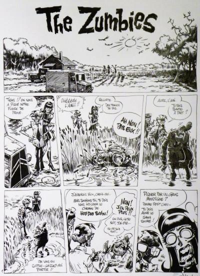 image de Planche originale The Zumbies tome 1 ; page 29