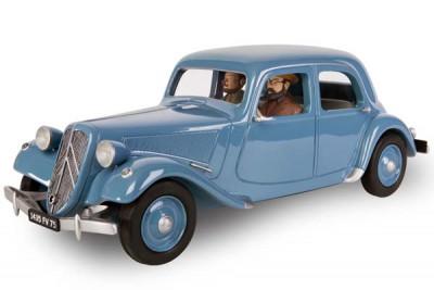 Page 7 Blake et Mortimer - Traction Citroën