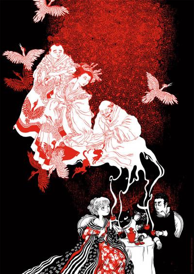 """image de Affiche """"Tea Party"""" de Nancy Peña (50 x 70 cm)"""