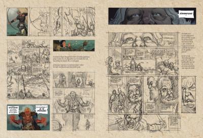 Page _ Tirage de tête Asgard tome 1 - Pied de fer