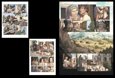 Page 1 Tirage de tête Gloria Victis tomes 1 et 2