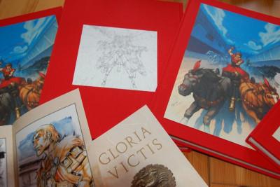 Page 7 Tirage de tête Gloria Victis tomes 1 et 2