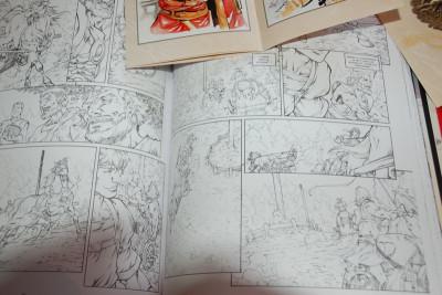 Page 8 Tirage de tête Gloria Victis tomes 1 et 2