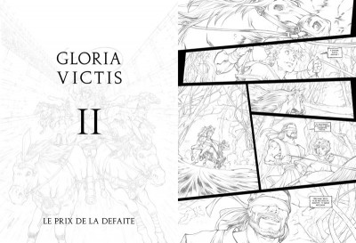 Page 9 Tirage de tête Gloria Victis tomes 1 et 2