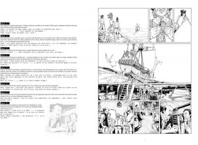 Page 7 Tirage de tête Sara Lone tomes 1 et 2