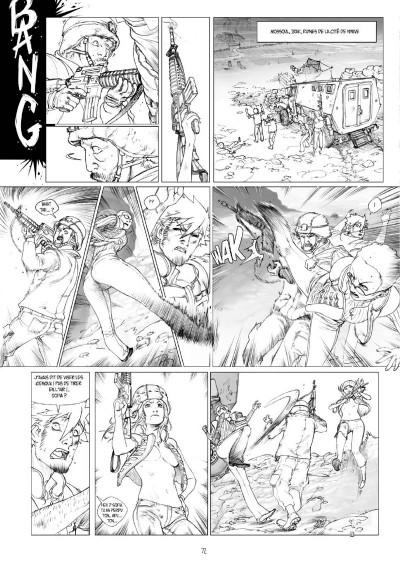 Page 7 Tirage de tête Cross Fire tomes 5 et 6