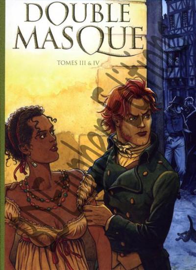 Couverture Double masque tomes 3 et 4 - Tirage de tête