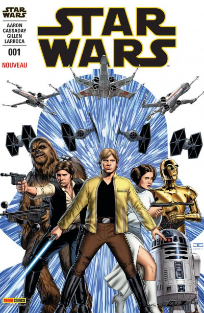 Couverture Star Wars fascicule tome 1 - Cover 1/10