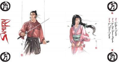 Page 2 Samuraï - intégrale de luxe tome 1