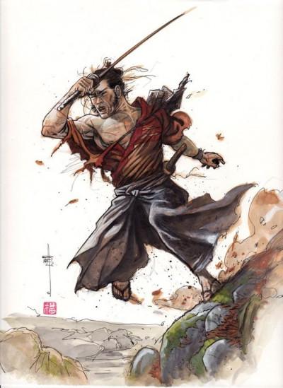 Page 1 Intégrale Samuraï tome 1 Collector