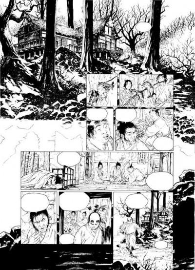 Page 9 Samuraï - intégrale de luxe tome 1