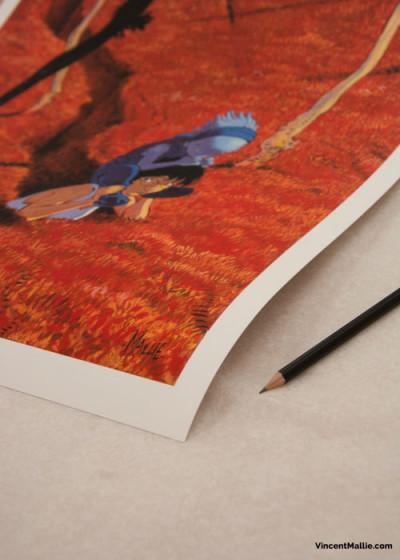 Couverture Couverture Le Grand Mort tome 1 - 30*40 cm