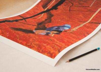 Page 2 Couverture Le Grand Mort tome 1 - 50*70 cm