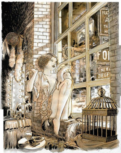 Page 4 Broadway - Une rue en Amérique - tirage de tête tome 1