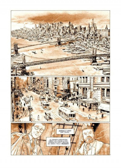 Page 8 Broadway - Une rue en Amérique - tirage de tête tome 1