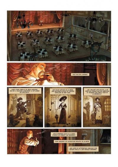 Page 9 Broadway - Une rue en Amérique - tirage de tête tome 1