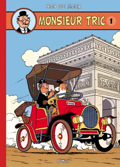 Page 1 Monsieur Tric intégrale en 5 albums