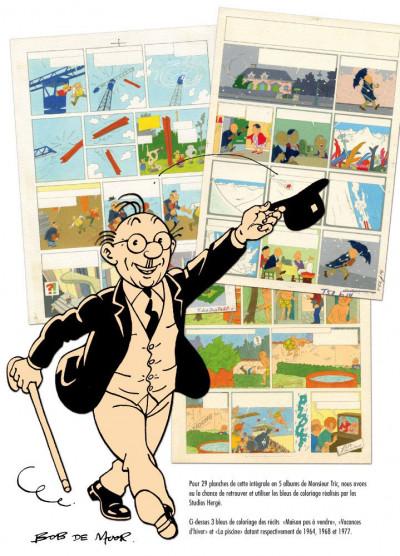 Page 0 Monsieur Tric intégrale en 5 albums