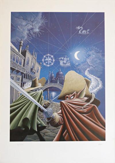 image de Affiche De cape et de crocs couverture tome 1