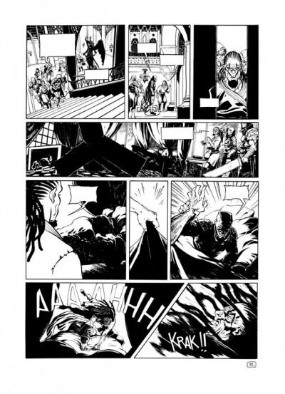 Page 1 Intégrale Angor Cycle 1 (noir et blanc)