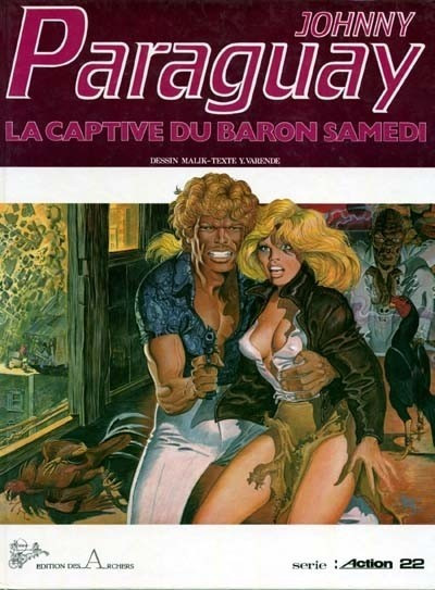 image de Johnny Paraguay tome 1 - La captive du baron Samedi