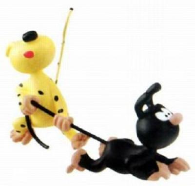 Page 8 Figurine Marsupilami - Petits Marsupilami jouent