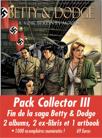 Couverture Betty and Dodge tomes 7, 8 + Artbook