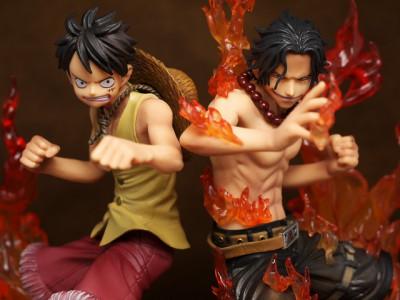 Page 5 One Piece - Figurine DX - Monkey D. Luffy et Portgas D. Ace