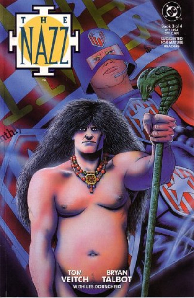 Couverture The Nazz tome 3 (anglais)