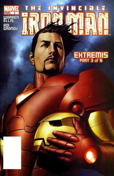 Couverture The Invincible Iron Man - Extremis tome 3 (en anglais)