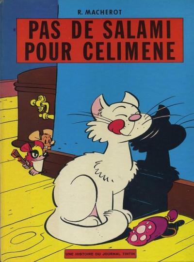 Couverture Chlorophylle tome 3 - Pas de salami pour Célimène (éd. 1966)