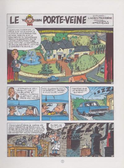 Couverture Marc Lebut et son voisin tome 15 - Le voisin porte-veine (éd. 1986)