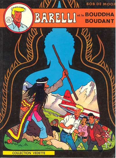 image de Barelli tome 3 - Barelli et le bouddha boudant (édition 1974)