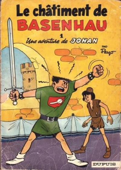 image de Johan et Pirlouit tome 1 - Le châtiment de Basenhau (édition 1968)
