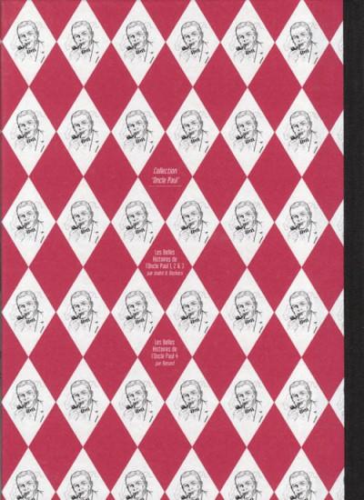 Dos Les Belles Histoires de l'Oncle Paul tome 3 (éd. 2009)