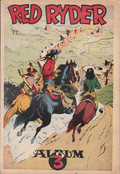 image de Red Ryder tome 3 - Album 3 (édition 1954)