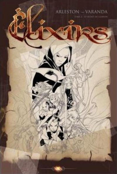 Couverture Élixirs tome 2 - Le secret du Glupion (éd. 2010)