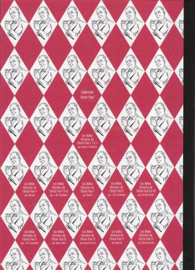 Dos Les Belles Histoires de l'Oncle Paul tome 15 (éd. 2011)