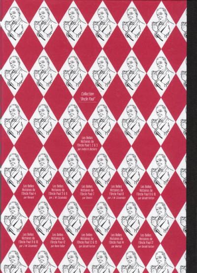 Dos Les Belles Histoires de l'Oncle Paul tome 17 (éd. 2011)