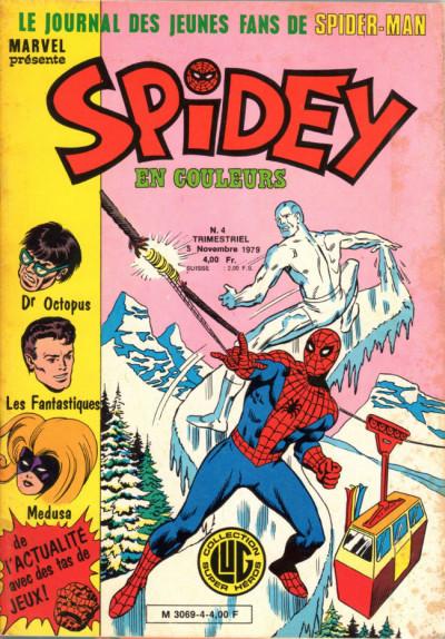 Couverture Spidey tome 4 - Spidey 4 (éd. 1979)