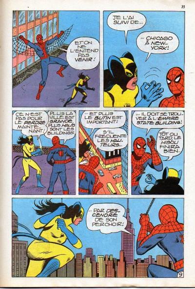 Page 1 Spidey tome 4 - Spidey 4 (éd. 1979)