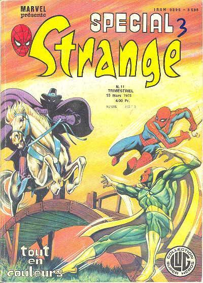 Couverture Spécial Strange tome 11