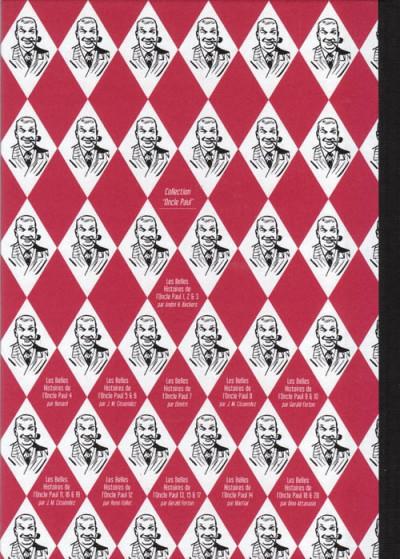Dos Les Belles Histoires de l'Oncle Paul tome 20 (éd. 2011)