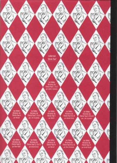 Dos Les Belles Histoires de l'Oncle Paul tome 21 (éd. 2011)