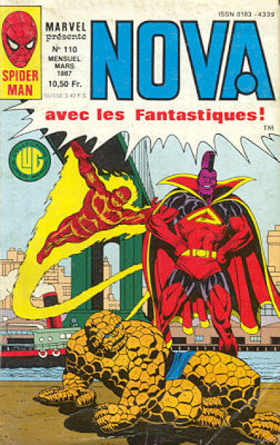 Couverture Nova tome 110 - Nova 110 (éd. 1987)