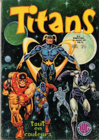 Couverture Titans tome 6 - Titans 6 (éd. 1977)