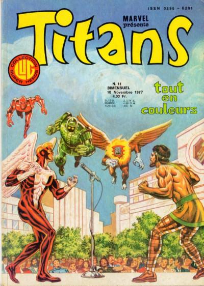 Couverture Titans tome 11 - Titans 11 (éd. 1977)