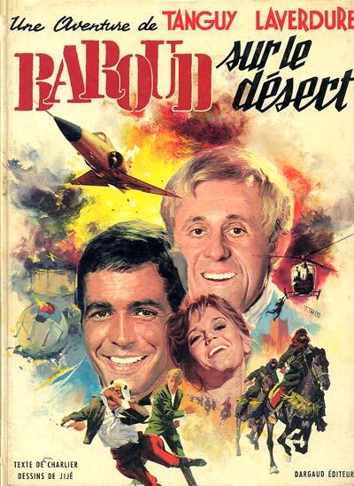 image de Tanguy et Laverdure tome 14 - Baroud sur le désert (édition 1970)